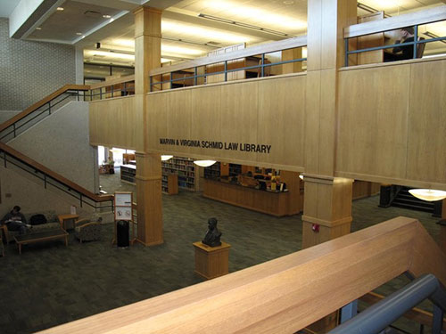 Photo of UNL Law Library